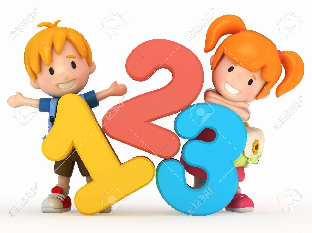 1300x974 Child Math Clipart