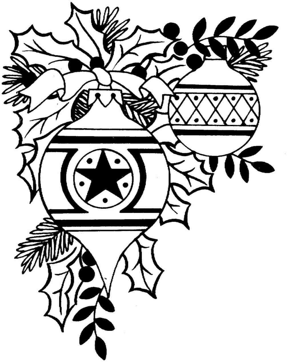 1005x1264 Black And White Christmas Tree Clipart Love The Leaves!