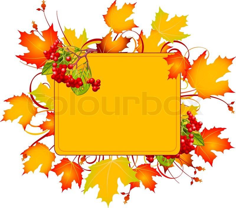 800x705 Fall Tree Stock Vector Colourbox