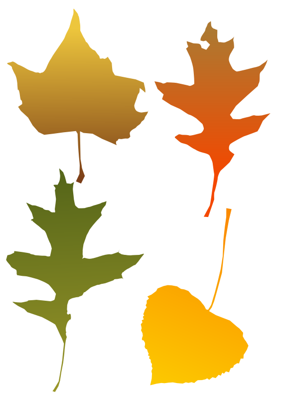 566x800 Leaves Blowing Clip Art Clipart Panda