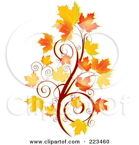 450x470 Leaves Blowing Clip Art