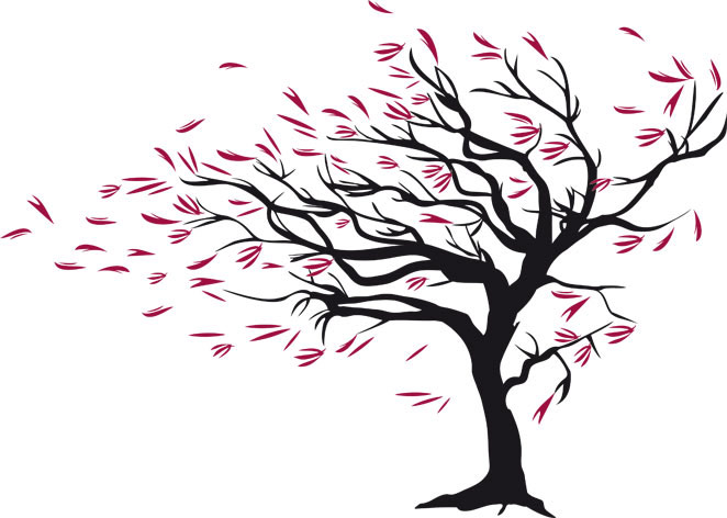 662x472 Tree Clipart Wind Blowing