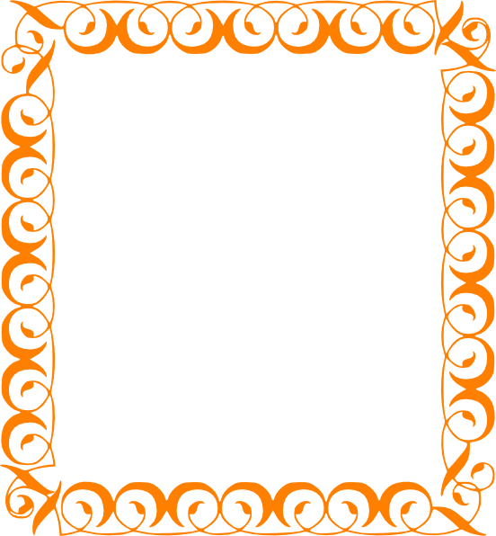 552x596 Fall Border Fall Leaves Border Clipart Free Images 3