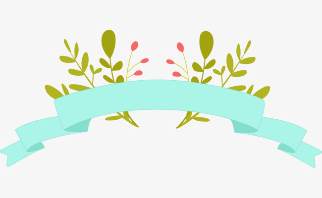 650x400 Cartoon Flower Leaves Borders, Cartoon Border, Flower Borders Png