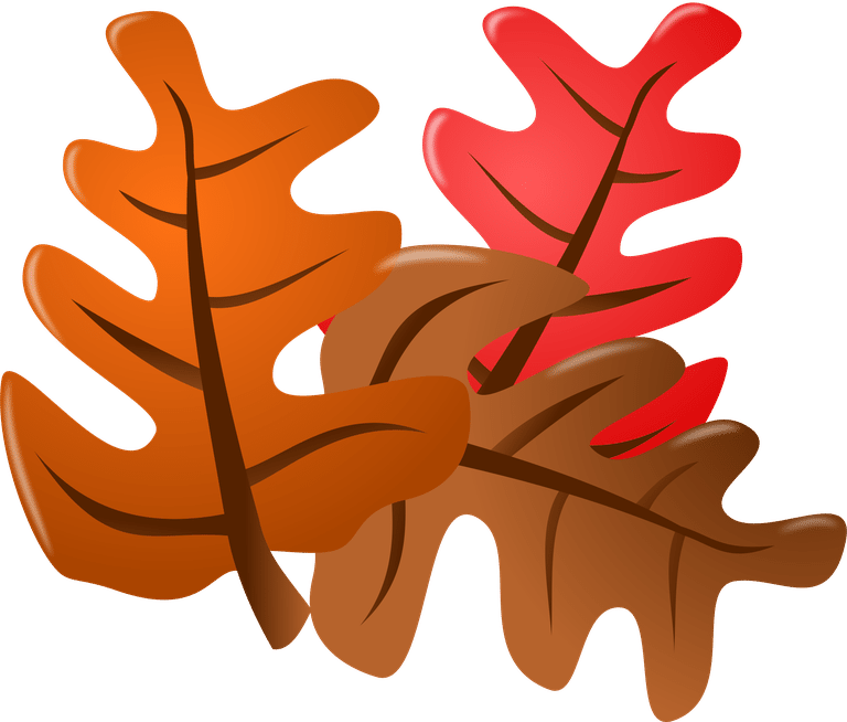 768x654 Fall Leaves Clipart