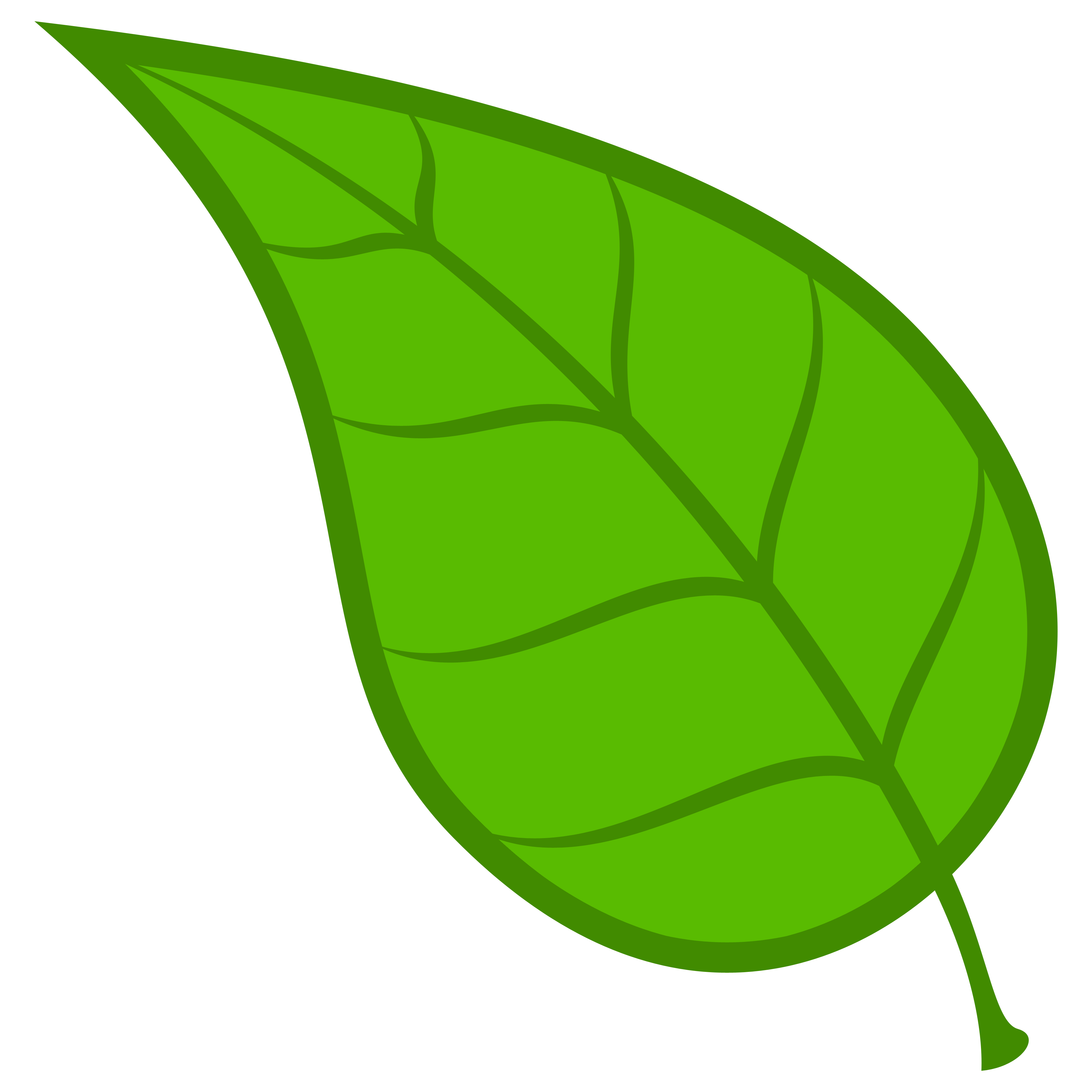 3600x3600 Leaves Clipart Green Leaf