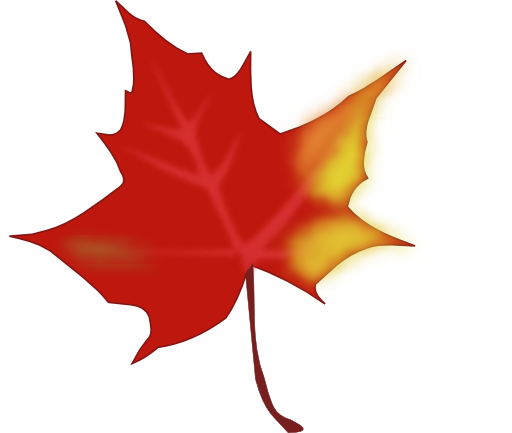 512x433 Autumn Leaves Clip Art
