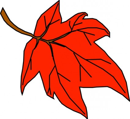 425x388 Best Fall Leaves Clipart