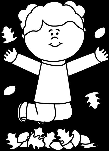 420x580 Black And White Fall Clip Art 101 Clip Art