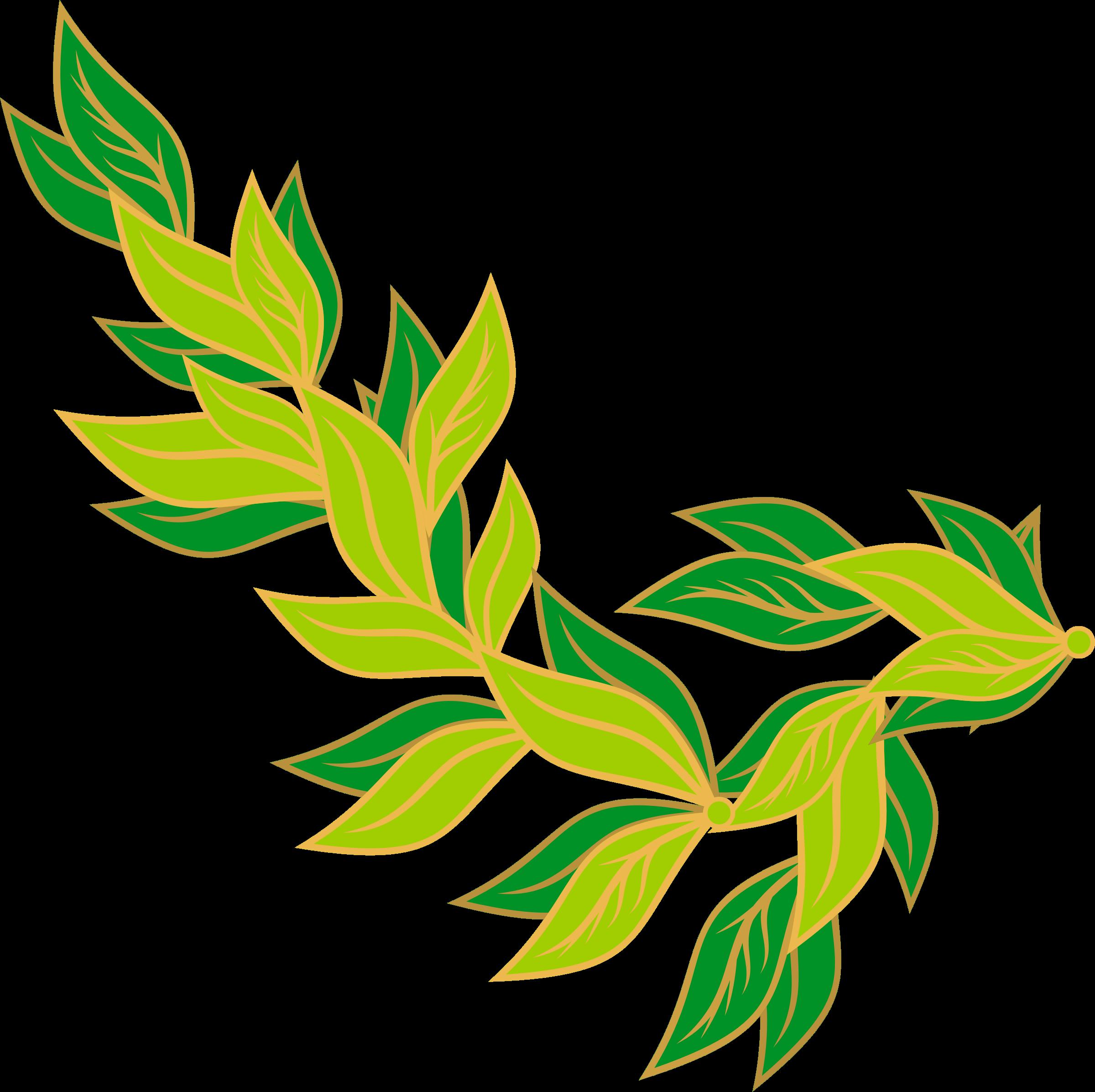 2400x2393 Stem Clipart Leaf
