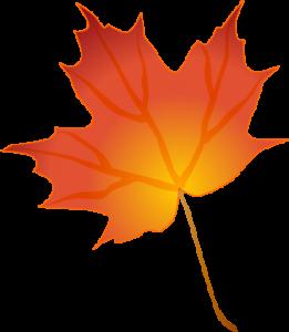 261x300 Top 82 Autumn Leaf Clip Art