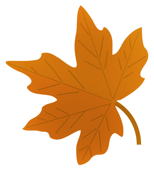 595x650 Fall Leaves Clip Art