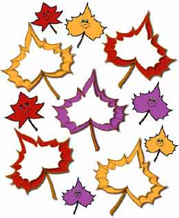 260x317 Freebie Scrapbook Pages, Fall, Leaves, Thanksgiving, Background