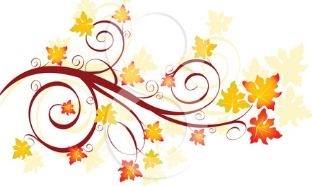 441x263 Autumn Leaves Clip Art