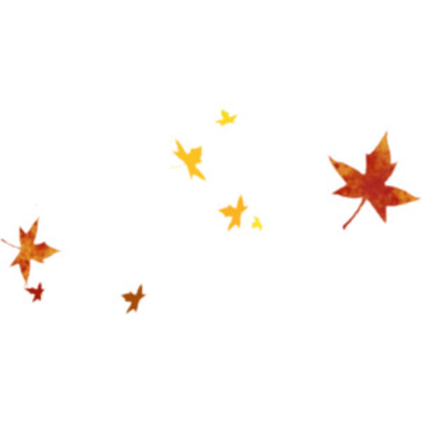 600x600 Fall Leaves Clip Art