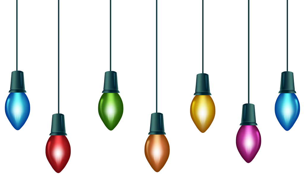 1024x616 Christmas ~ Christmas Lights Free Clip Art Of Clipart Best Led M5