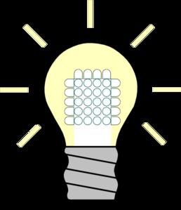 258x299 Light Bulb Led On Clip Art
