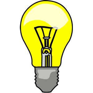 300x300 Lightbulb Led Light Bulb Clipart Clipartfest 3