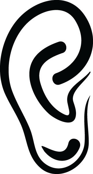 323x600 Left Ear Png Clipart