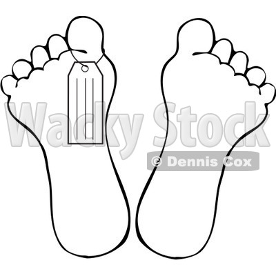 400x400 Free Vector Clip Art Illustration A Black And White Outline