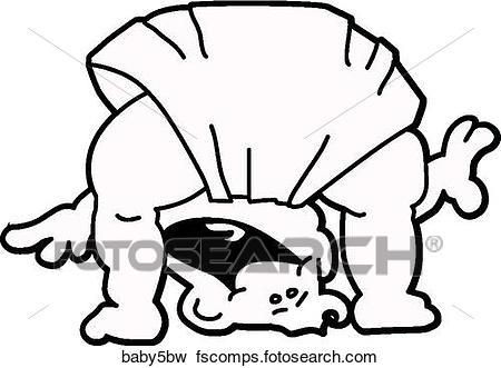 450x331 Stock Illustration Of Baby Peeking Through Legs