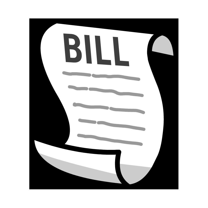 880x880 Rate Clipart Bill Law