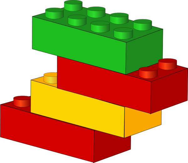 600x521 Image Of Blocks Clipart