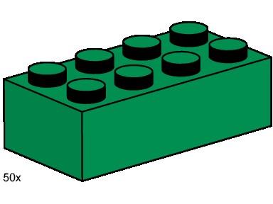 384x288 Lego Block Clipart Green