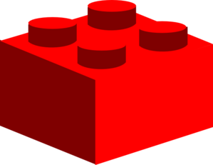 299x231 Red Lego Clip Art