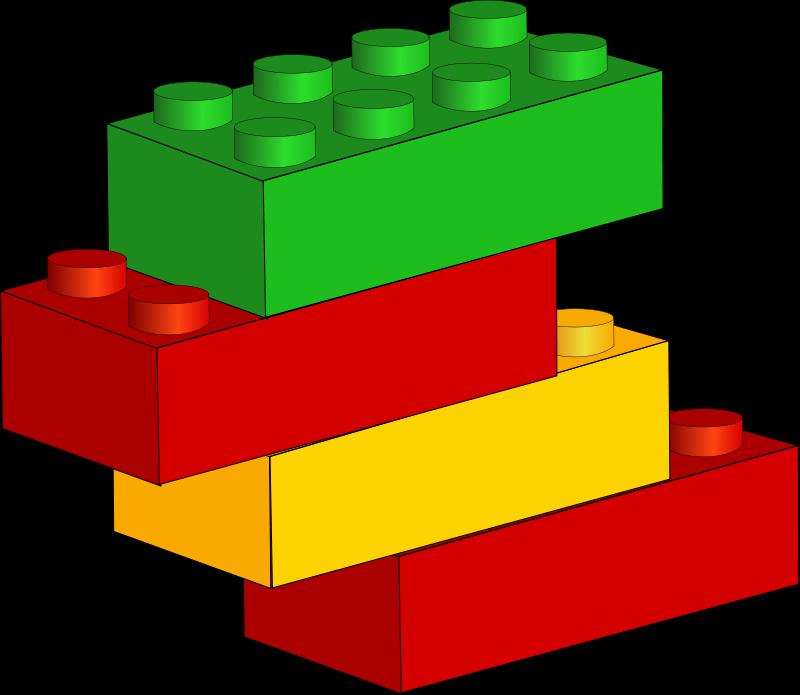 800x695 Free Lego Blocks Clip Art