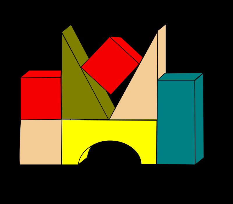 800x699 Blocks Cliparts