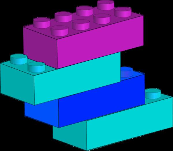 600x522 Free Lego Bricks Clipart