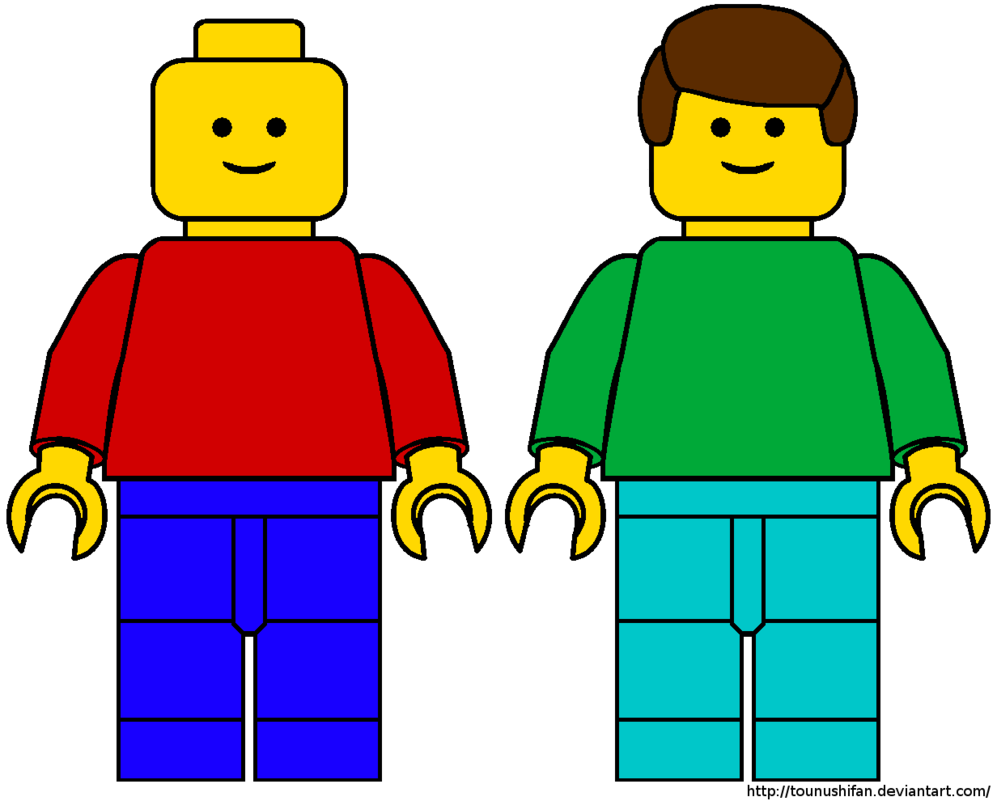 997x801 Lego Man Template By Tounushifan Kindergeburtstag Clipart