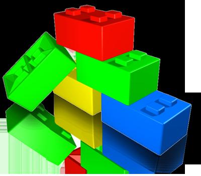 400x350 Legos Clip Art
