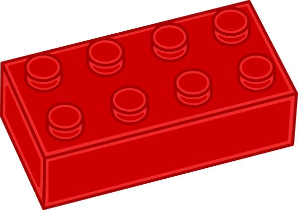 600x423 Red Lego Clip Art Cwemi Images Gallery