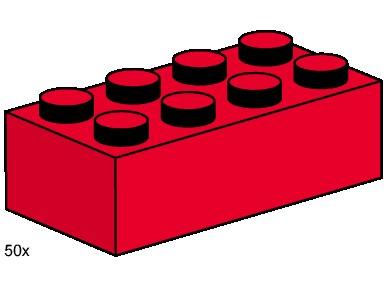 384x288 3462 1 2x4 Red Bricks Brickset Lego Set Guide And Database