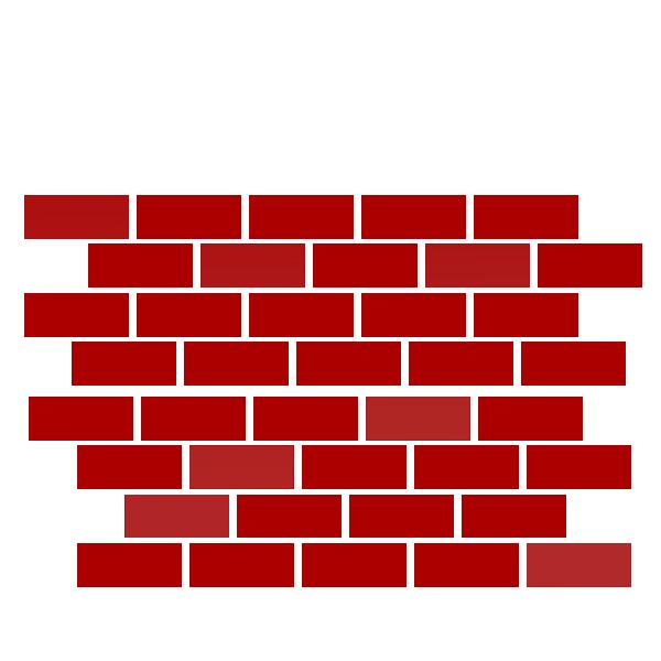 600x600 Lego Clipart Brick Wall