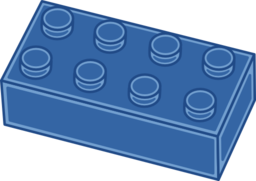 256x181 Blue Lego Brick Clipart Clipart Panda