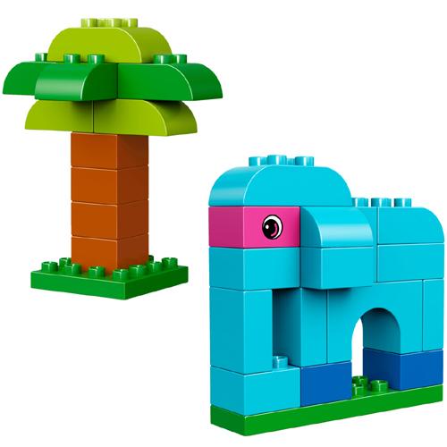 500x500 Bricks Lego Duplo Creative Builder Box Le 10853