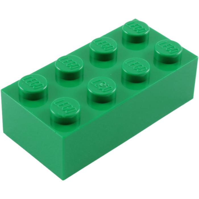 700x700 Lego Green Brick 2 X 4 (3001) Brick Owl