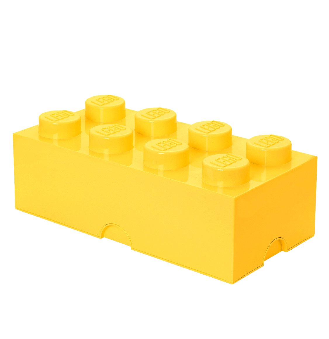 1126x1160 Lego Storage Brick 8 Yellow