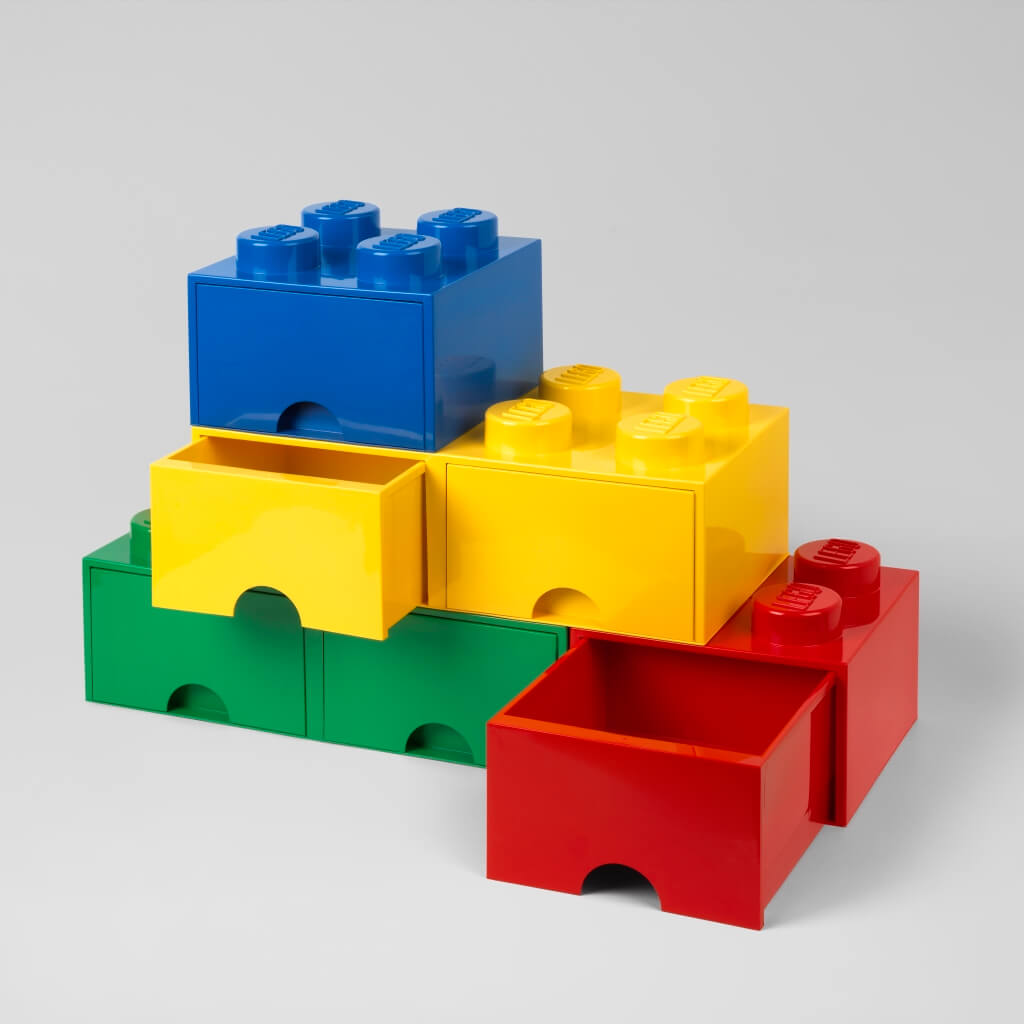 1024x1024 Lego Storage Bricks With Drawers