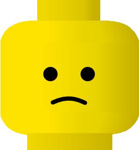 276x298 Lego Smiley Sad Clip Art Free Vector 4vector