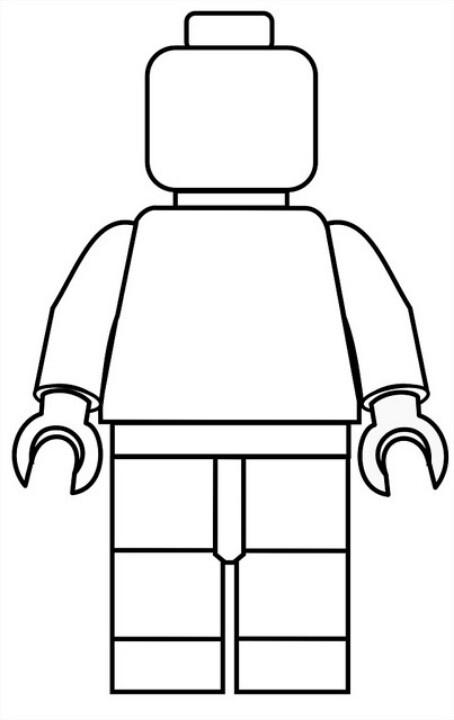 454x720 Lego Clipart Body