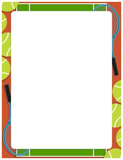 250x324 Tennis Border Classroom Management Plan Clip Art