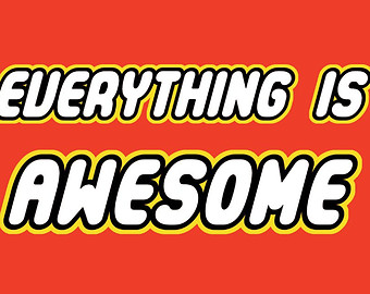 340x270 Lego Movie Everything Is Awesome Clipart Image