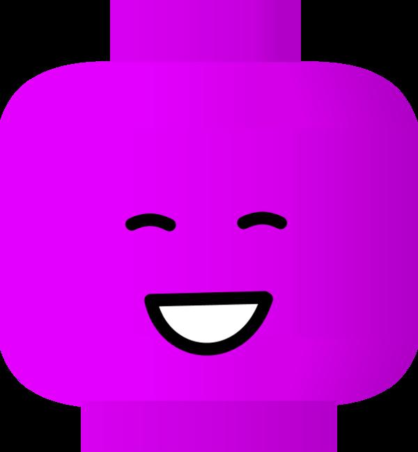 600x650 Smiley Face Lego Vector Clip Art 2