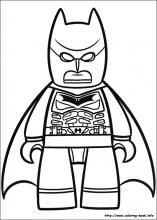 157x220 Lego Batman Coloring Pages On Coloring