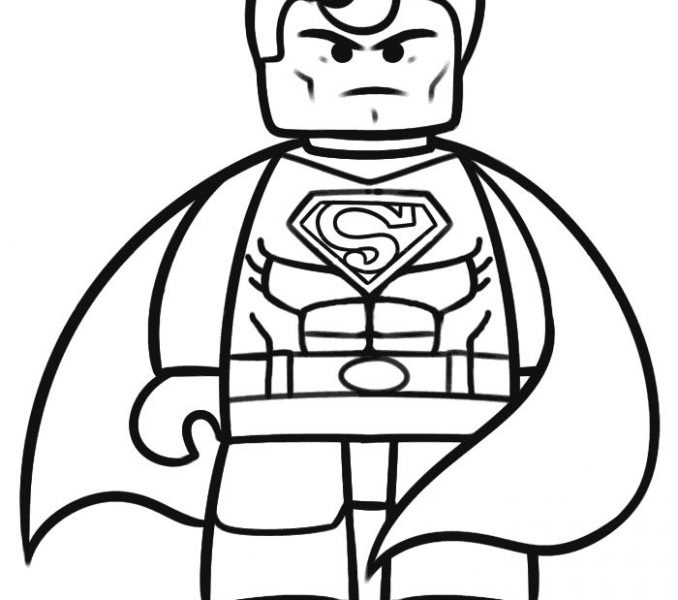 678x600 Lego Coloring Pages Coloring