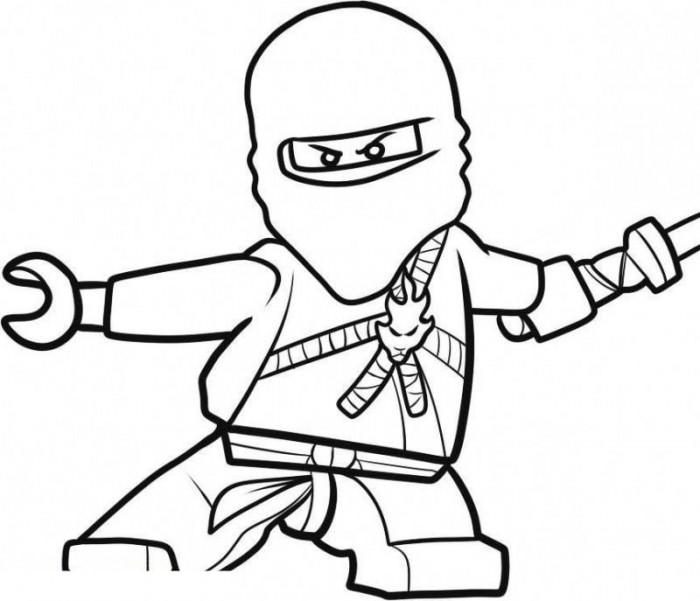 700x601 Lego Ninjago Coloring Pages